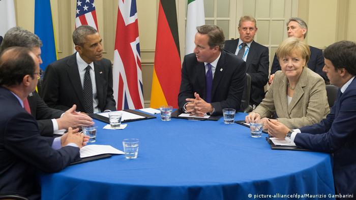 Beratungen über die Ukraine auf dem NATO-Gipfel (Foto: dpa)