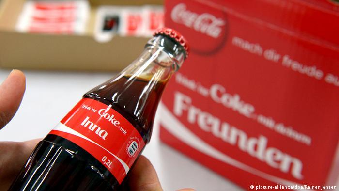 Бутылка Coca-Cola
