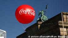 Coca-Cola Ballon Brandenburger Tor in Berlin