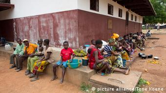 Vorbereitung auf mögliche Ebolafälle in der Zentralafrikanischen Republik