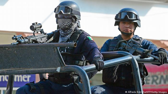 Mexiko Polizei (Alfredo Estrella/AFP/Getty Images)