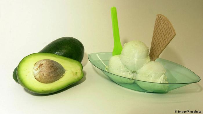 Экзотически зеленое: мороженое с авокадо