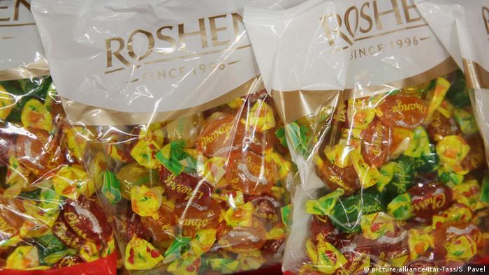 Конфеты марки Roshen