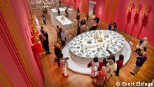 Ausstellung Dining with the Tsars in der Hermitage Amsterdam