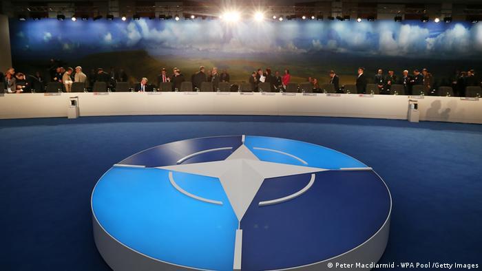 Зал заседаний саммита НАТО в Уэльсе, 5 сентября 2014