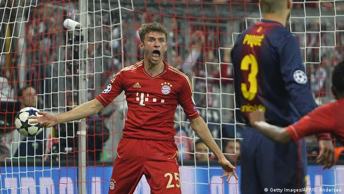 UEFA Champions League 2013 Thomas Müller