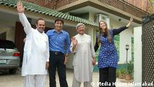 The DW Akademie Pakistan team together with project partners from Pakistan: Media House Islamabad Muhammad Shafiq, Asif Khan, Shahjahan Sayed und Karin Schädler