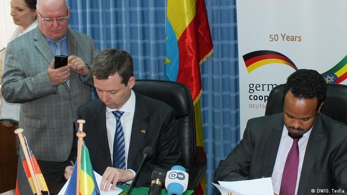 Deutschland Äthiopien Abkommen (DW/G. Tedla)