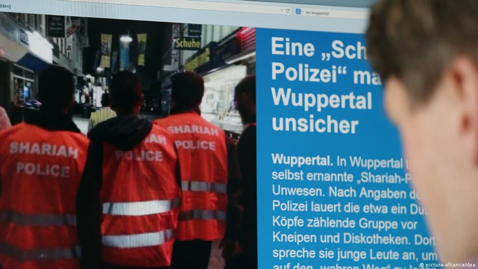 Locals concerned as 'Sharia police' patrol streets of German city | DW | 05.09.2014
