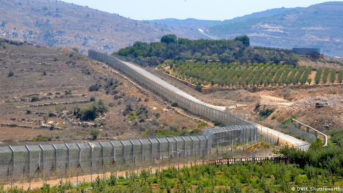 Grenzgebiet Syrien - Israel Golanhöhen