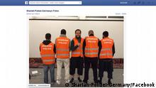 Screenshot Sharia Polizei in Wuppertal Facebook