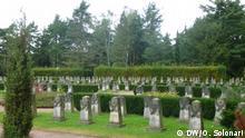 Sowjetischer Garnisonfriedhof in Dresden (31.08.2014); Copyright: DW/O. Solonari
