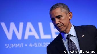 Wales NATO-Gipfel 2014 in Newport Barack Obama