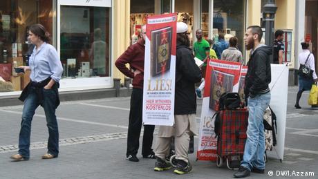 Koranverteilung in der Bonner Innenstadt