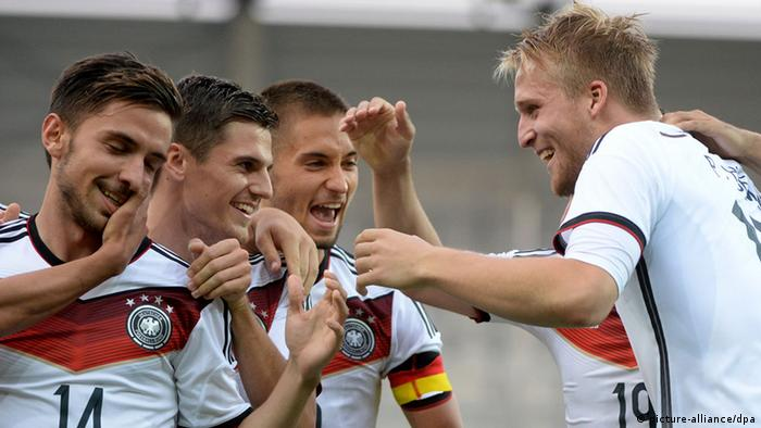 Germany S U21s A Step Closer To 2015 Euro Qualification