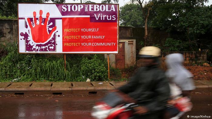 Symbolbild Sierra Leone verhängt wegen Ebola viertägige Ausgangssperre
