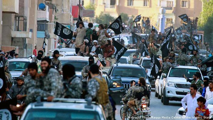 Die syrische Stadt Raqqa nach der Einnahme durch den IS