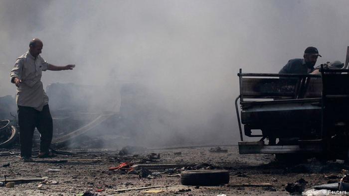 Syrien Unruhe Protest 06.09.2014 (Reuters)