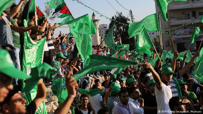 Hamas bayrağının Almanya′da yasaklanması talebi | Almanya | DW | 20.05.2021