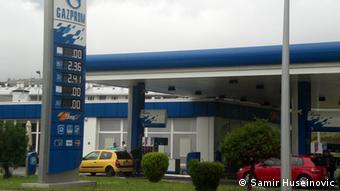 U proteklih par godina ruski Gazprom je uspostavio lanac benzinskih pumpi širom BiH