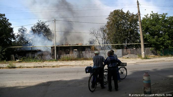Ukraine Konflikt Explosion in Donezk 07.09.2014