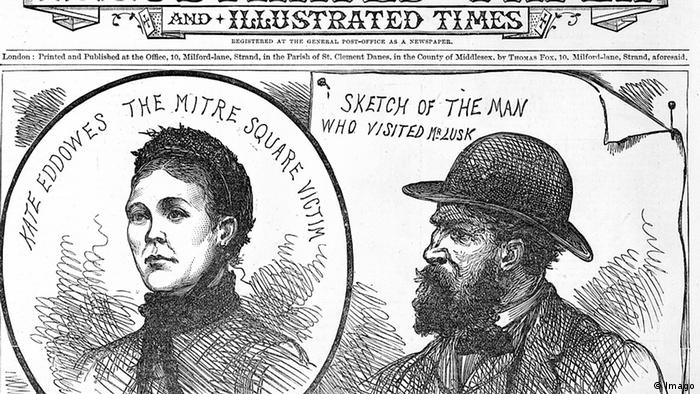 The Penny Jack the Ripper Aaron Kosminski Zeitung Zeichnung