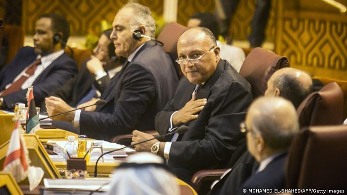 نشست کشورهای عربی در قاهره