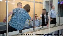 Prozess gegen vier mutmaßliche islamistische Terroristen Düsseldorf 08.09.2014