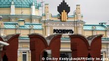 Rosneft Logo in Kreml Archiv 2013