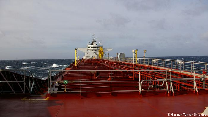 Tanker auf hoher See (Foto: German Tanker Shipping)