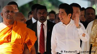 Sri Lanka Japan Ministerpräsident Shinzo Abe in Colombo