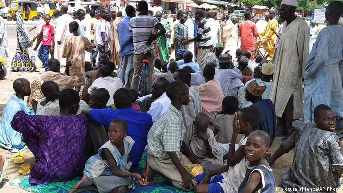 Nigeria Flüchtlinge in Maiduguri (Foto: AP)