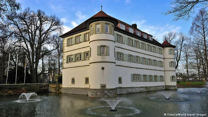Замок Бад-Раппенау (Wasserschloss Bad Rappenau)