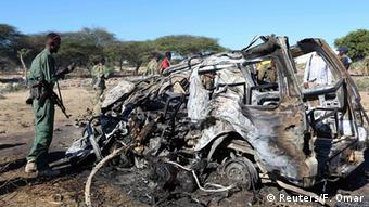 Posljedice samobilačkog atentata u Mogadišu