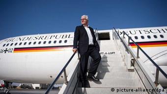 Bundesaußenminister Steinmeier auf Asien-Reise (picture-alliance/dpa)