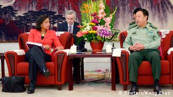Susan Rice mit Fan Changlong 09.09.2014 Peking