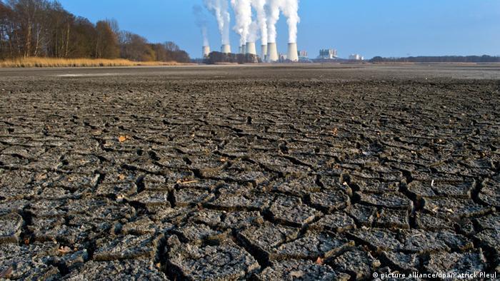 Symbolbild Treibhausgase Klimawandel Umweltverschmutzung (picture alliance/dpa/Patrick Pleul)