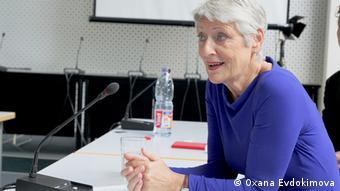 Marieluise Beck, Sprecherin für Osteuropapolitik und Obfrau im Auswärtigen Ausschuss der Bundestages (Foto: O. Evdokimova)