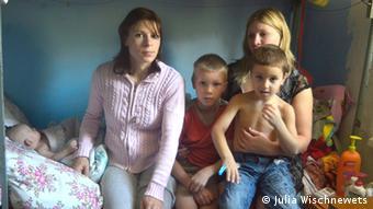 Беженцы из Донецкой области в Москве