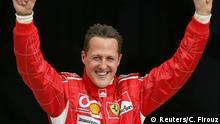 El piloto de F1 Michael Schumacher.