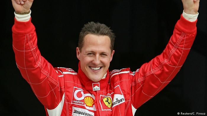 Немецкий гонщик Михаэль Шумахер - самый успешный пилот Ferrari в Формуле-1.