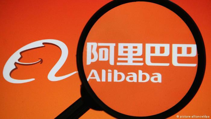 Alibaba Logo China