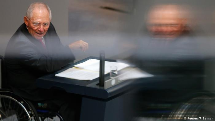 Schäuble im Bundestag 9.9.2014