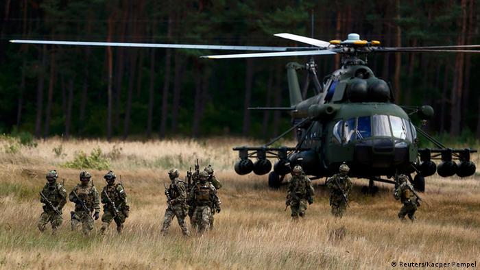 Учения НАТО в Польше в начале сентября 201 года