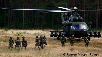 Учения НАТО в Польше в 2014 году