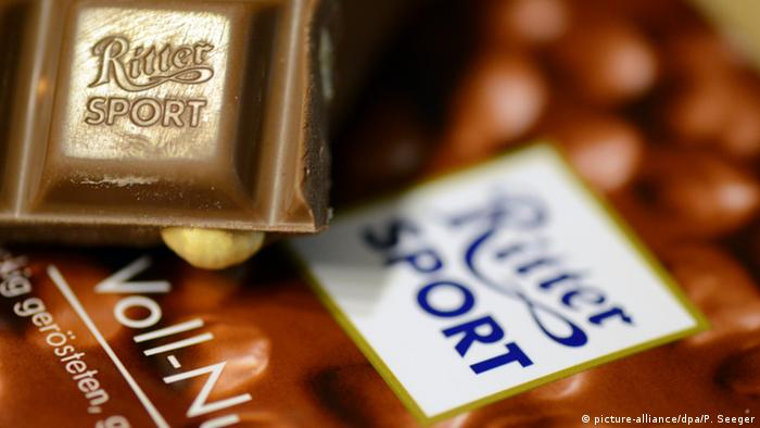 Čokolada Ritter Sport