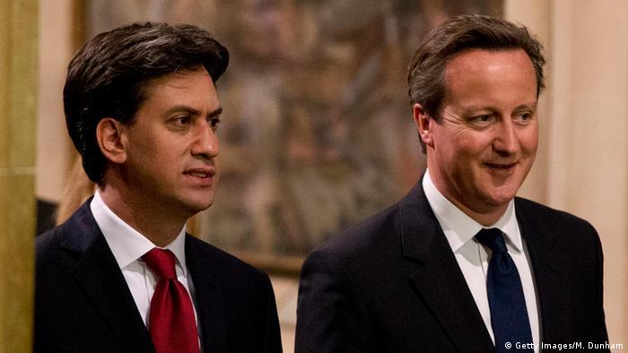 Ed Miliband und David Cameron