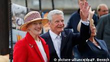 Berlin - Bundespräsident Gauck mit der dänischen Königin Margrethe II