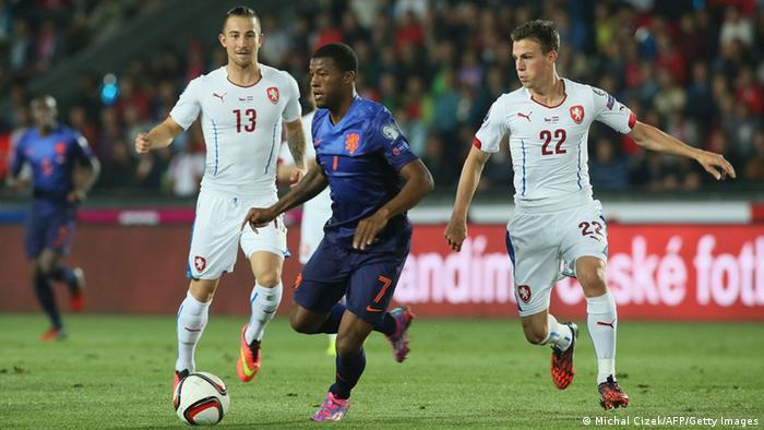 Fußball EM Qualifikation Tschechien - Niederlande