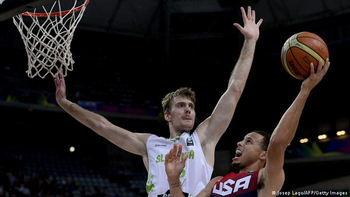 Basketball Weltmeisterschaft Slowenien - USA (Foto: JOSEP LAGO/AFP/Getty Images)